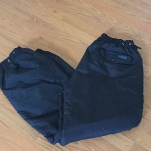 Men's black ski snow pants Columbia size XL